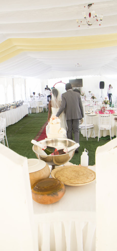 Our main wedding tent!